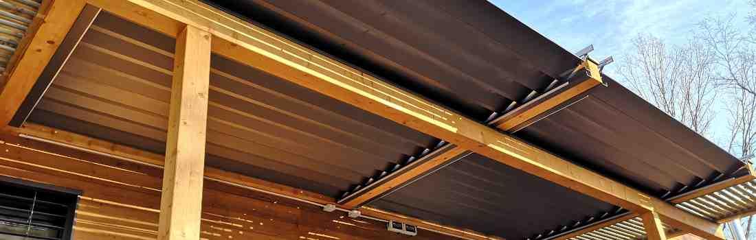 Comment réparer une pergola sur une terrasse en bois?