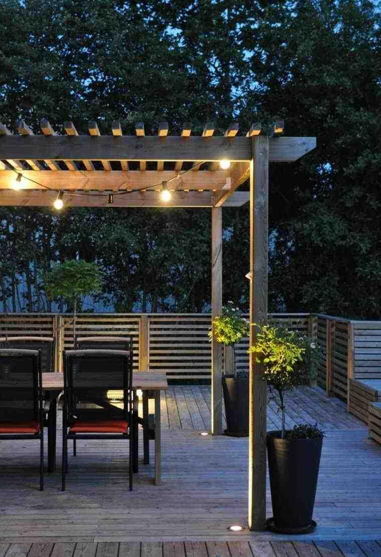 Comment bien éclairer la terrasse?